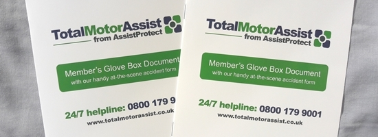 Member's glovebox booklets